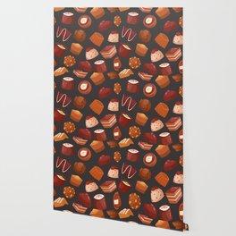 chocolate pattern Wallpaper