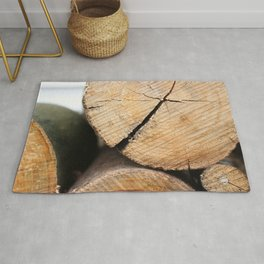 Wood Pile Rug