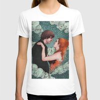 eternal sunshine of the spotless mind T-shirts featuring Eternal Sunshine - Meet Me In Montauk by Angela Rizza