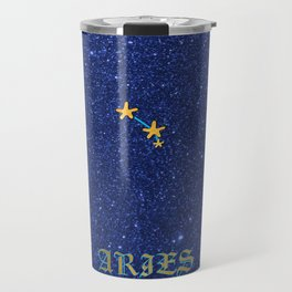 Constellations - ARIES Travel Mug