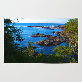 Wild Pacific Trail, Ucluelet BC Rug