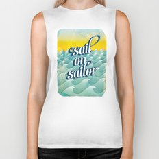 Sail on sailor, Biker Tank