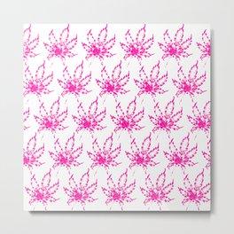 Pink Kush Metal Print