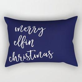 Merry Elfin' Christmas Rectangular Pillow