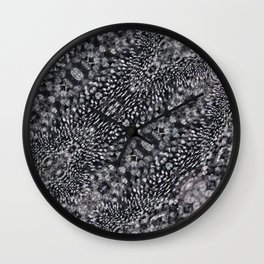 Drops BW Wall Clock