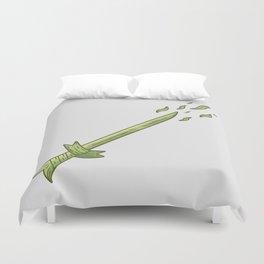 Grass Sword Duvet Cover