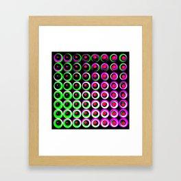 bla ha again Framed Art Print
