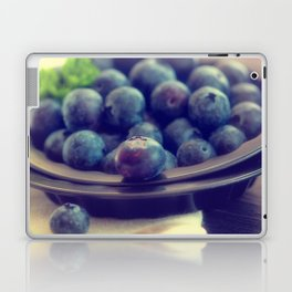 Blueberry plate Laptop & iPad Skin
