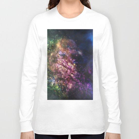 Rainbow Nebula Long Sleeve T-shirt