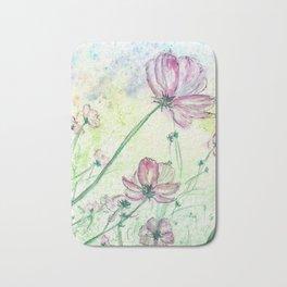 Blossoms and Air Bath Mat