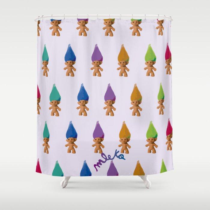 Trolls Shower Curtain By Marinadelosangeles