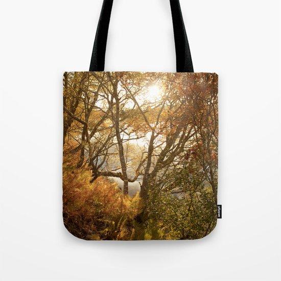 November falls Tote Bag