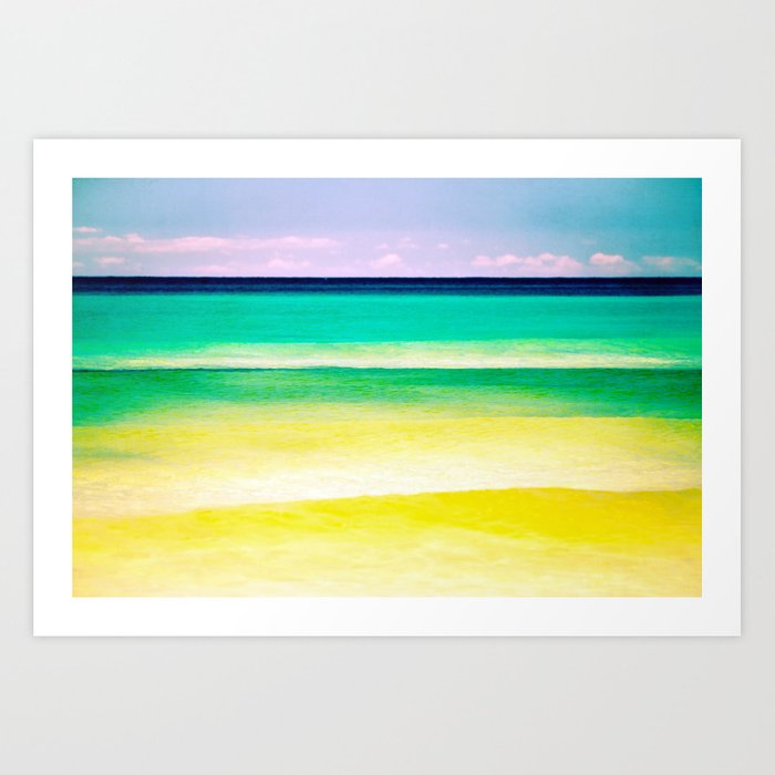 dreams of the sea Art Print