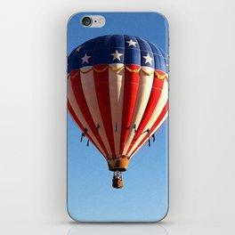 Patriotic Hot Air Balloon iPhone Skin