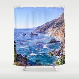 California Dreamin - Big Sur Shower Curtain