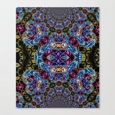 BBQSHOES: Fractal Design 1020C Digital Psychedelic Art Canvas Print
