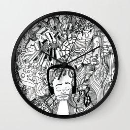 Headphone Escape Wall Clock