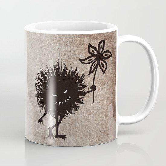 Evil Bug Gives Flower Mug