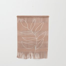 Engraved Leaf Line Wall Hanging