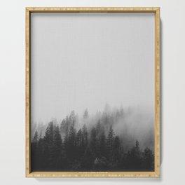 Dark Mist Serving Tray
