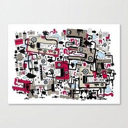 Sim Jam Canvas Print