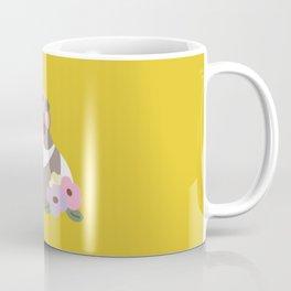 Guinea pig and flowers Coffee Mug