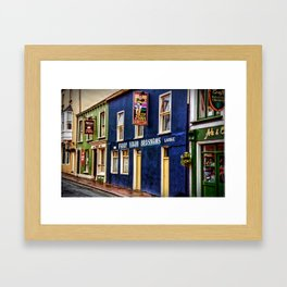 Paddy Bawn Brosnans Bar in Dingle Framed Art Print