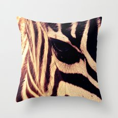 Zazu the Zebra Throw Pillow