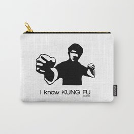 I Know Kung Fu (sounds) Carry-All Pouch