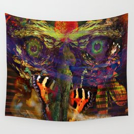 Awake inside Environmental Dream Wall Tapestry