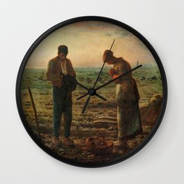 The Angelus Jean Francois Millet Wall Clock