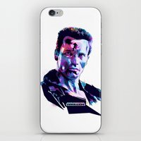 arnold iPhone & iPod Skins featuring Arnold Schwarzenegger: BAD ACTORS by Largetosti