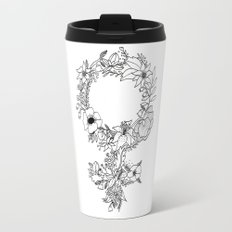 Feminist Flower  2.0 Travel Mug