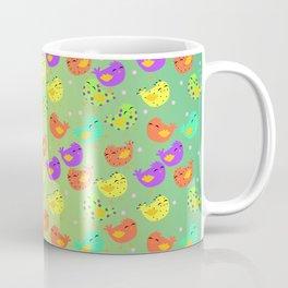colorful happy birds party Coffee Mug