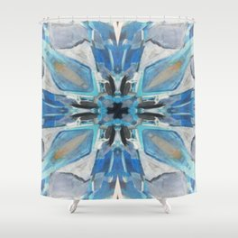 inside the frost bite Shower Curtain