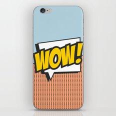 Wow (comic style) iPhone & iPod Skin