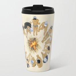 Finding Warmth Together Travel Mug