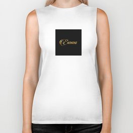 Emma- personalized gifts for girls Biker Tank