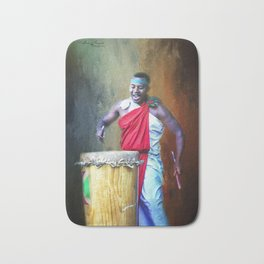 Let There Be Drums Bath Mat