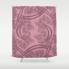 Can Can Fractal Shower Curtain