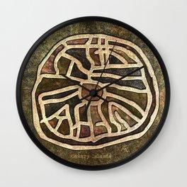 Ancestry Map Wall Clock