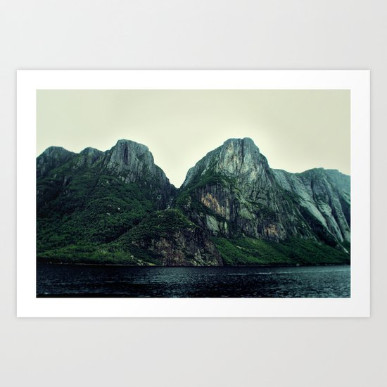 Roots of the Mountains Art Print