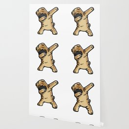 Funny Dabbing Shar Pei Dog Dab Dance Wallpaper
