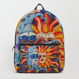Celestial Comedy and Tragedy Backpack