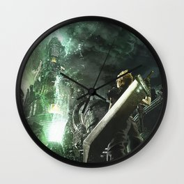 Soldier lifestream Wall Clock
