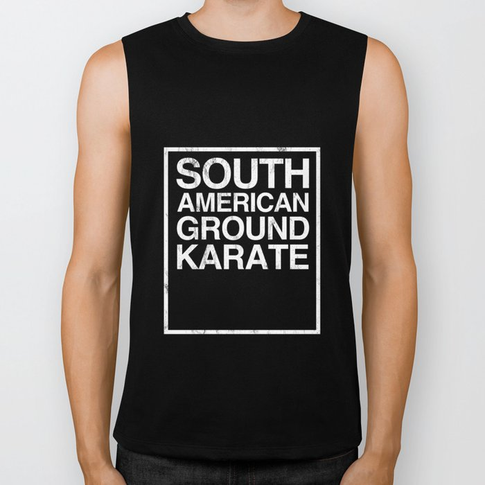 BJJ Brazilian Jiu Jitsu South American Ground Karate TShirt Biker Tank