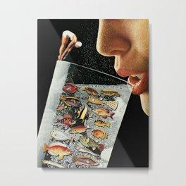 Shared Ecosystem Metal Print