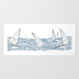 Sailors Art Print