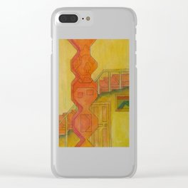 For the Squares: A Party at Auntie Mame's Clear iPhone Case