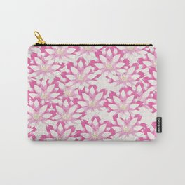 Lotus flower pattern Carry-All Pouch